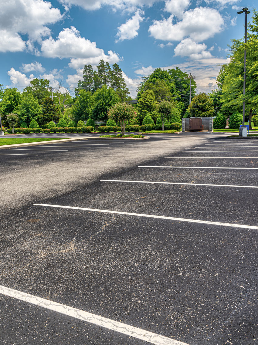 parking lot paving and maintenance